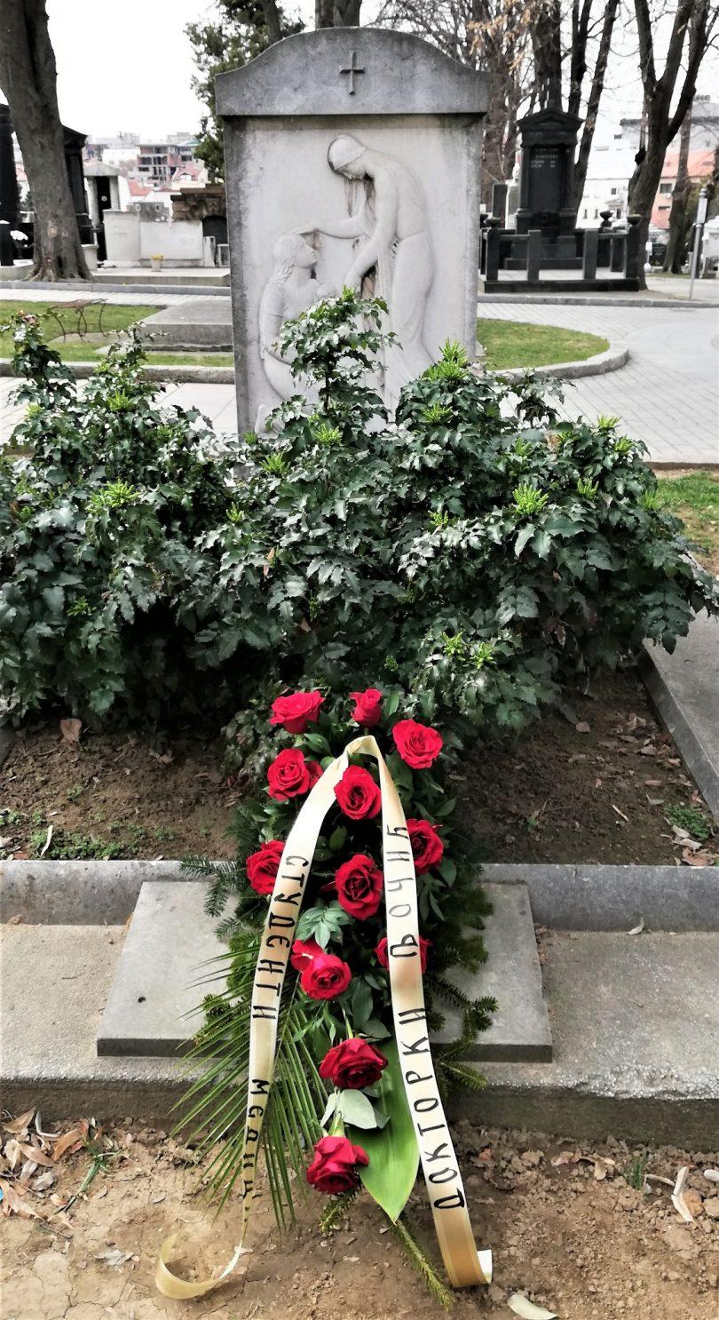 Porodična grobnica dr Drage Ljočić i njenih potomaka nalazi se na Novom groblju u Beogradu.